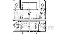 533288-7 HDI PIN Assy 3 Row 150 POS R//A