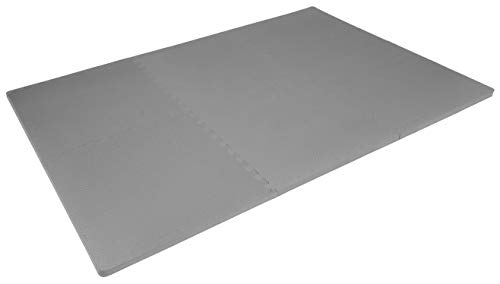 Prosource Fit Puzzle Exercise EVA Interlocking Tiles for Protective, Cushioned Workout Flooring Gym Equipment,