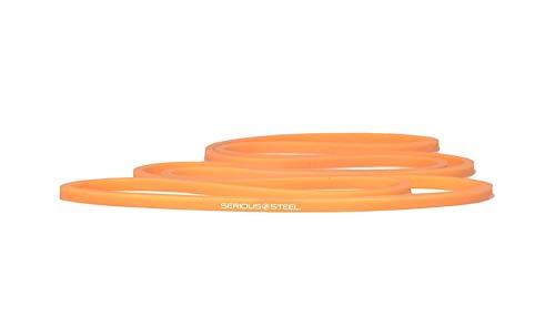 Serious Steel Fitness Orange - #0 Micro Resistance and Mobility Band (2-12 lbs) by Serious Steel Fitness (Image #4)