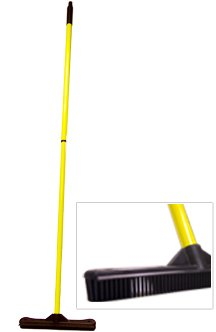 Sweep and Clean Rubber Broom KL KLBR