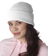 UltraClub Knit Beanie with Cuff one size fits all, - Ultraclub Knit Beanie