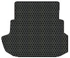 Mercedes-Benz 280SL Custom-Fit All-Weather Rubber Floor Mats Trunk Area - Black (1967 67 1968 68 1969 69 1970 70 1971 71 ) - Mats Custom 280sl