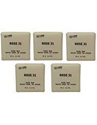 Le Labo Rose 31 Soap lot of 5 each 1.4oz bars. Total of 7oz ()