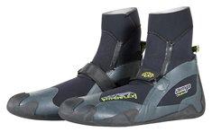 Hyperflex Wetsuits Men's 7mm Amp Round Toe Boot,Black,10