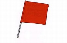 Taylor Made Products 93978 Skier Down Boat Flag (18-Inch ...