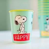Peanuts Snoopy Happy Reusable Party Cups - Set of 6 (88248) -