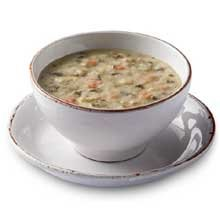 TrueSoups Cream of Chicken Soup with Wild Rice - 8 lb. bag, 4 per - Cream Soup Rice Wild Of Chicken