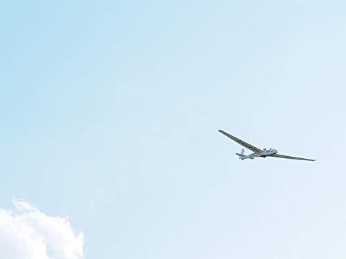 Photography Poster - Glider Pilot, Glider, Gliding, 24''x18.5'', Gloss Finish by VintPrint