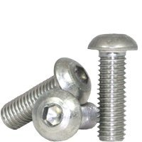 (1500pcs) 5/16''-18x3/4'',(FT) Socket Cap Screw, Button Head, Stainless Steel (18-8), (inch), Size: 5/16''-18, Length: 3/4'', Coarse Thread (UNC), Fully Threaded,