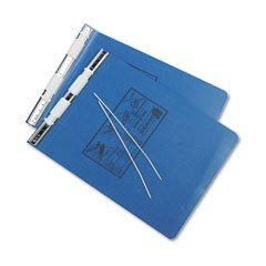 UNIVERSAL Pressboard Hanging Data Binder, 9-1/2 x 11 Unburst Sheets, Blue (Case of 20)
