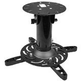 SIIG CE-MT0X12-S1 Universal Ceiling Projector Mount for 60-Inch to 102-Inch Screen, Black