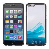 Smartphone Protective Case Slim PC Hard Cover Case for Apple Iphone 6 Plus / 6S Plus ( 5.5 ) / CECELL Phone case / / Iceberg Ornament Nature /