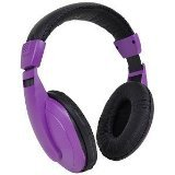 DGL VS-750-DJ-BPRP DJ Style Overhead Stereo Headphones