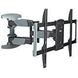 70 sharp q - VonHaus Premium Double Arm Full Motion Articulating TV Wall Mount for 37 - 70 Inch LCD, LED & Plasma TV Max VESA 400x600mm, 99lbs Weight Limit