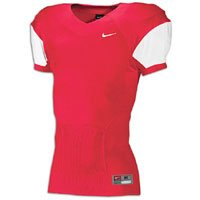 t Speed Football Jersey (Large, Scarlet White) ()
