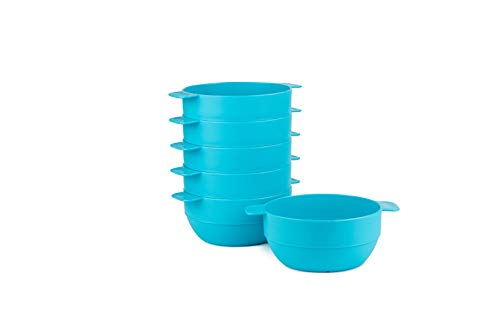 (Amuse- Unbreakable & Stackable Bowls < Dessert, Cereal or Ice Cream > - 6 pcs- 16.9 oz)