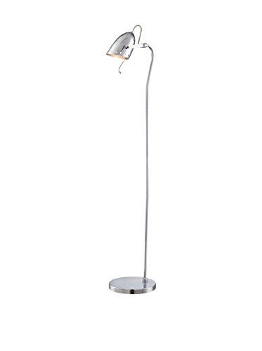 Lite Source Kanoni Space Age Chrome Floor Lamp