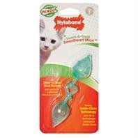 (Sweetheart Mice) Insert-a-treat Chew N Clean Treat Pockets Sweetheart Pocket