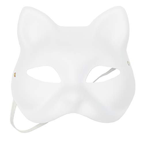 Bright Creations Blank DIY Masquerade Craft Cat Masks (24 Count)