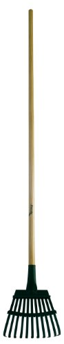 Shrub Rake (Flexrake 3W Shrub Rake 8-Inch Steel Head with 48-Inch Wood Handle)