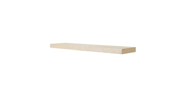 Ikea Falta - Estantería de Pared, el Efecto de Abedul - 110x26 cm