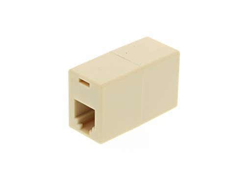 Networx RJ11 Modular Coupler - Cross Wired - 6 Conductor