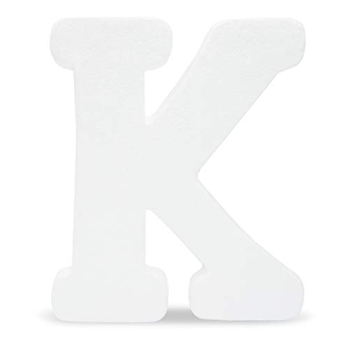 Letter K Craft (Bright Creations Foam Letter K for DIY Crafts, 12 Inches,)