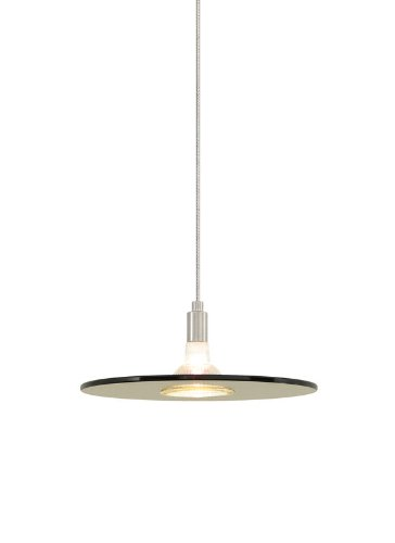 Biz 1 Light Monorail Pendant Finish: Antique Bronze, Shade Color: Havana Brown, Mounting Type: Monorail