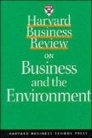 Harvard Business Review on Profiting from Green Business (A Harvard Business Review Paperback)