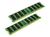 KTHDL1458G - Kingston memory - Memory - 8 GB ( 2 x 4 GB ) - DIMM 184-pin - DDR - 333 MHz