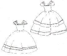 Girl's Walking Dress Pattern (Size- Medium 7-10) (Period Dress)