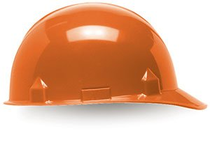 Jackson Sc6 Hard Hat (Head & Face Protection - Orange Jackson Safety SC-6 Hard Hats - (6 Each) - R3-14839)