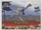 Caudipteryx (Trading Card) 2015 Upper Deck Dinosaurs - [Base] - Extinction Red #43