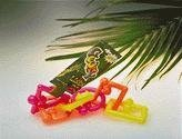 - Jungle Talk Goofy Links Plastic Bird Toy (Neon, Large)