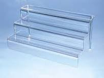 3 Tier Riser (Acrylic) (Acrylic Display Shelf compare prices)