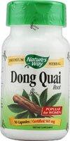 Nature's Way - Dong Quai Root, 565 mg, 50 capsules