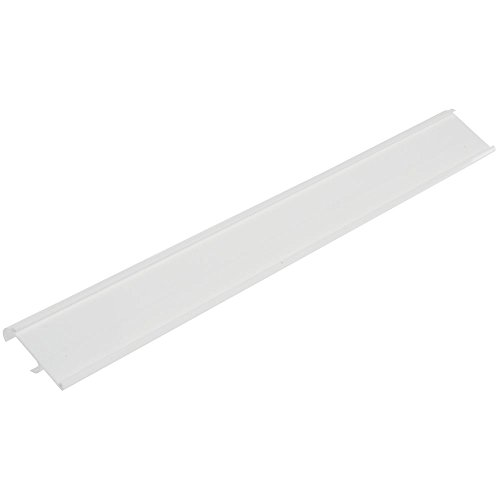HUBERT Price Tag Holders for Double Wire Shelves White Plastic - 29 1/2