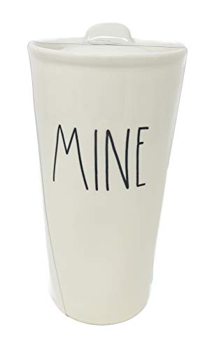- Rae Dunn By Magenta MINE Large Letter LL Ceramic Travel Tumbler Mug