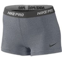 Nike Pro Core II Women's 2.5 Inch Compression Shorts - X Large - Grey