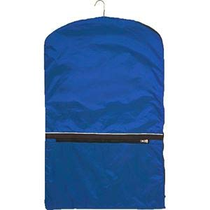 Dover Saddlery Show Coat Bag - Royal/Black/White