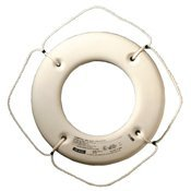 (Jim-Buoy Hard Shell Ring Buoy, 24 - White by Jim-Buoy)