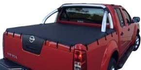 Nissan Navara STX/ST D40 Dual Cab, Bunji Ute Tonneau Cover to fit Factory Sports Bars