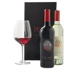 Peju Red and White Wines Gift Set, 2 x 750 mL