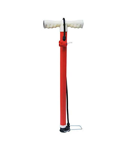 SMAT Indian Made Heavy Duty, Strong Handle Provides Comfort and Durable and Portable Cycle Pump for All Kinds of Cycles Tyre, Bicycles Tyre, Scooters Tyre, Balls, Bikes Tyre,