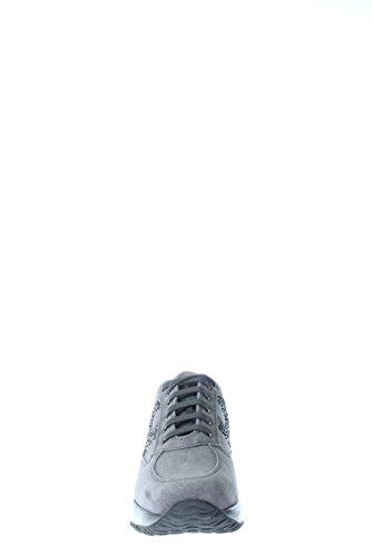 Hogan Damen Interactive hxw00N0s3609keb800nteractive Lavor H spezzata RICAM, grau - Catrame - Größe: 36½