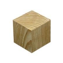 inch Wooden Craft Blocks Cubes Bag