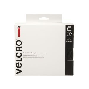 Velcro 90197 2 Pack 15ft. x 2in. Industrial Strength Sticky Tape, Black ()