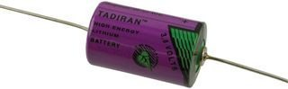 - TADIRAN BATTERIES TL2150/P LITHIUM BATTERY, 3.6V, 1/2AA (1 piece)