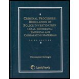 Criminal Procedure : Regulation of Police Investigation: Legal, Historical, Empirical, and Comparative Materials, Slobogin, Christopher, 0820550442