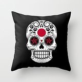 Uloveme The Skull Throw Pillow Covers Of ,18 X 18 Inches / 45 By 45 Cm Decoration,gift For Wedding,husband,study Room,kids,pub,kids Room (twice (Cello Kitchen Sponges)